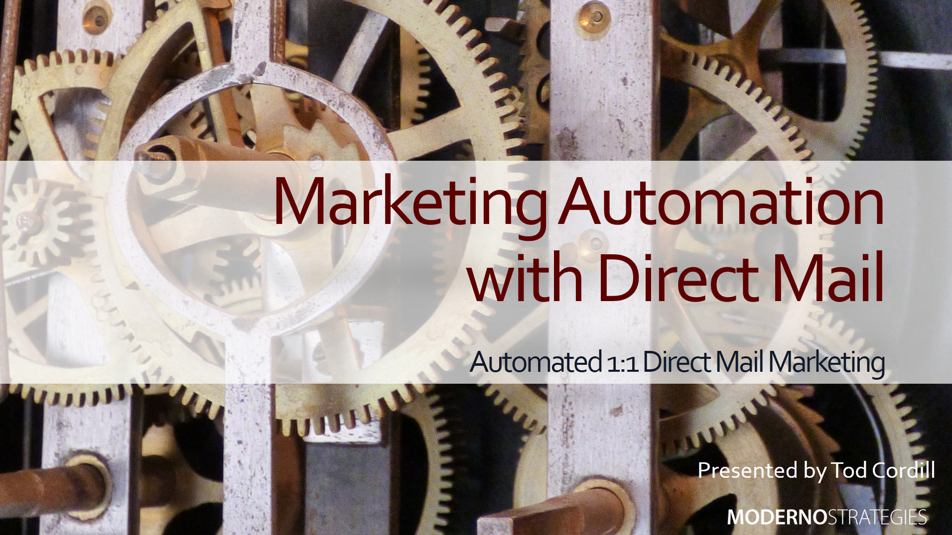 Leverage Direct Mail in Your Marketing Automation Programs