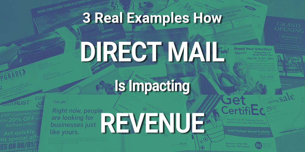direct mail driving revenue 2019